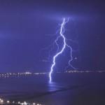 Furtuna cu descarcari electrice sambata in sudul Frantei. Sursa: Observatoire Français des Tornades et des Orages Violents