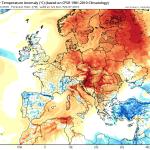 Un nou val de aer cald va afecta Romania incepand de duminica, abaterile termice pozitive urmand sa fie din nou foarte ridicate, de pana la 10-12 grade relativ la media climatologica a perioadei, cu precadere in zonele de deal si de munte din vestul si centrul tarii. Sursa: tropicaltidbits.com, model GFS.